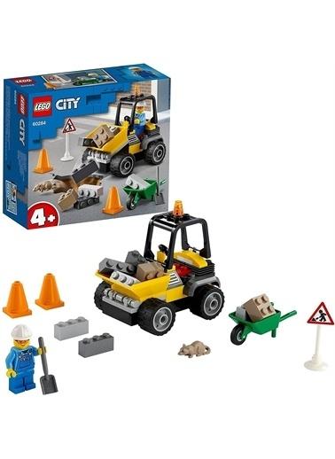 Lego 60284 Lego® City Yol Çalışması Aracı /58 Parça/+4 Yaş Renkli